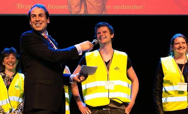 Dagvoorzitter Erik Peekel Verkeersveiligheidscongres